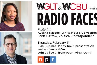Radio Faces logo and NPR guests