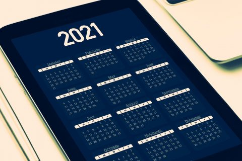 a 2021 calendar