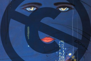 Cover of Great Gatsby with a copyright symbal canceled out