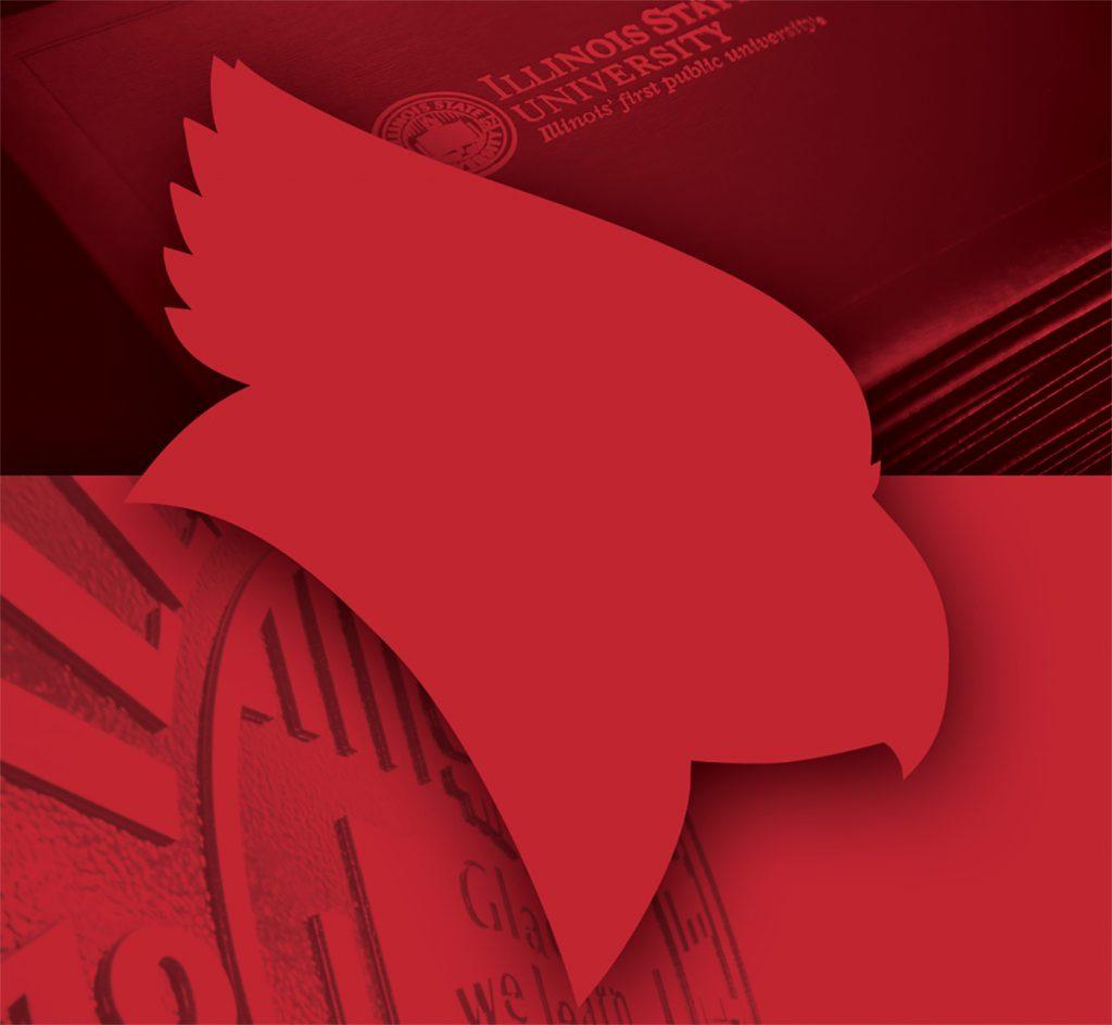 image of Redbird head, seal, and diplomas