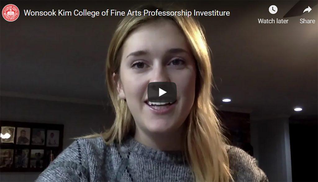 WKCFA Investiture Video Thumbnail