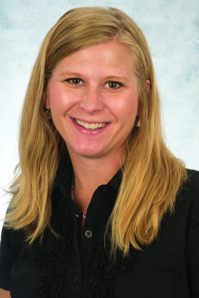 Portrait of Dr. Emily Jones.