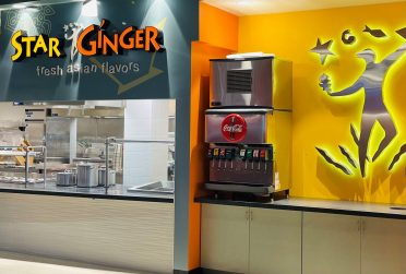 The new Star Ginger retail dining venue