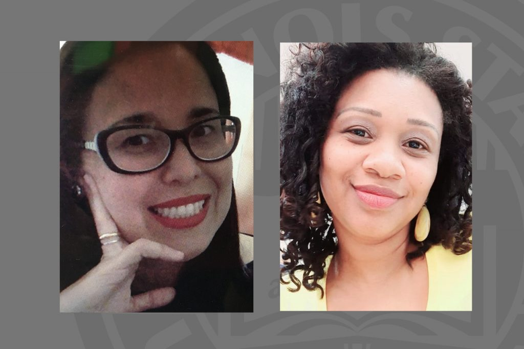 Headshots of Dr. Thalyta Mansano and Dr. Vanessa Cortes