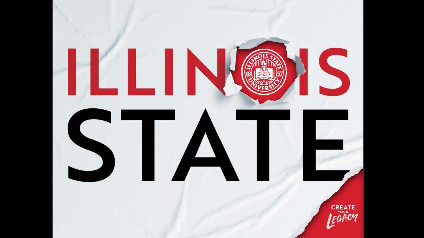 Publications, Student Recruitment-Individual Publication (Gold): Illinois State University Viewbook 2020 designed by Michael Mahle and Evan Walles and with photography by Lyndsie Schlink for the Office of Admissions.