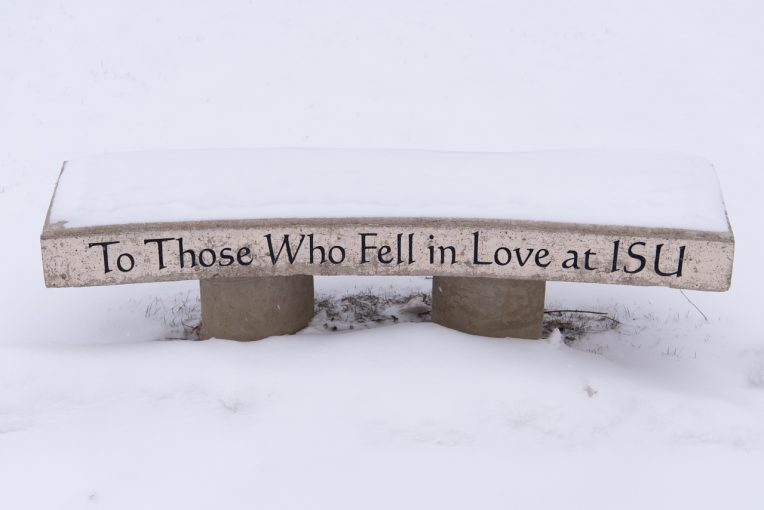 To Those Who Fell in Love at ISU bench