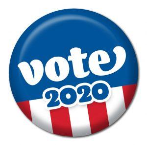 Voter 2020 button