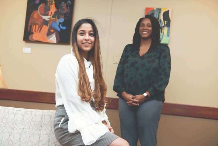 Khyati Verma and Dr. Brea Banks