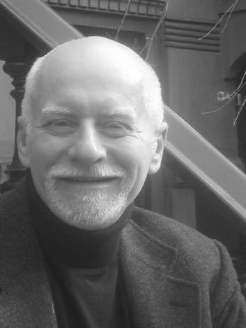 headshot of Chris Claremont