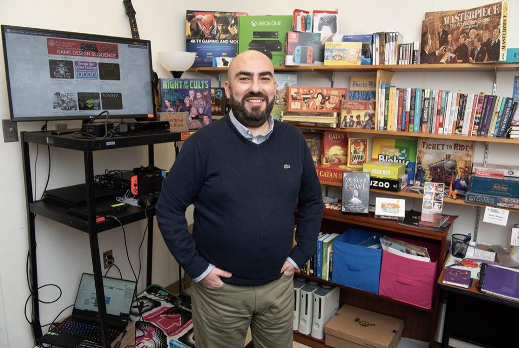 Assistant Professor of Creative Technologies Dr. Sercan Sengun.