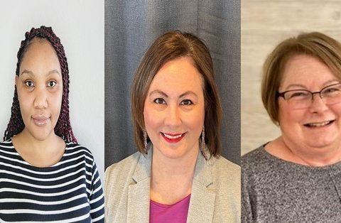 New hires in CSEP: Daina Mwangi, Lisa Skelly and Vicki Phillips