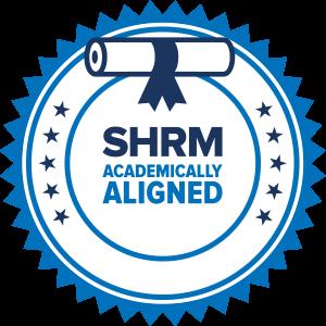 SHRM Academically Aligned Badge