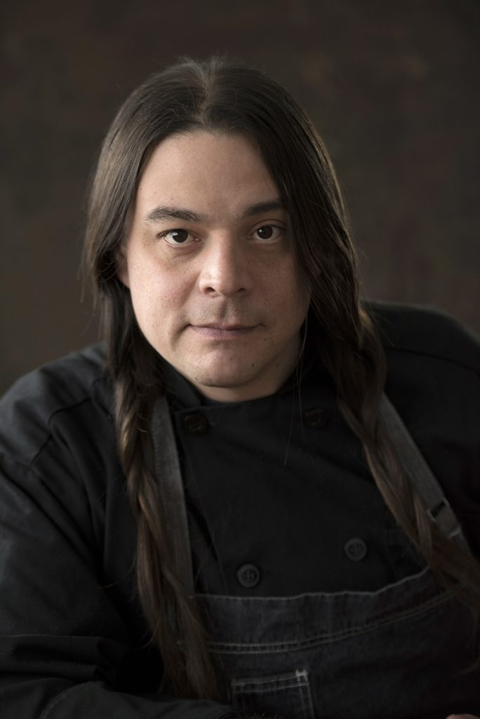 headshot of Chef Sean Sherman