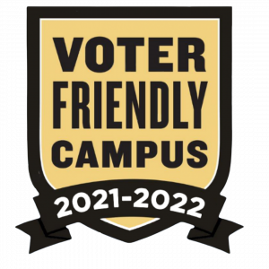 Voter Friendly Campus Seal, 2021-2022