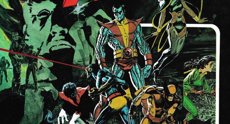drawn superheroes fighting