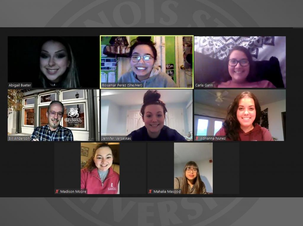 RSO members in meeting