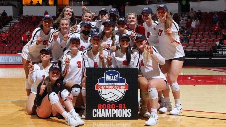 2021 Volleyball MVC champions