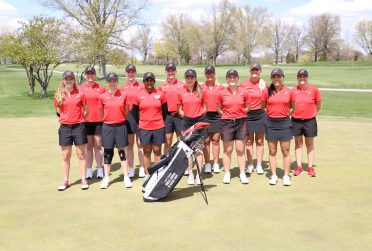 ISU women's golf team