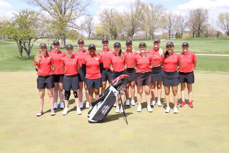 ISU women's golf team