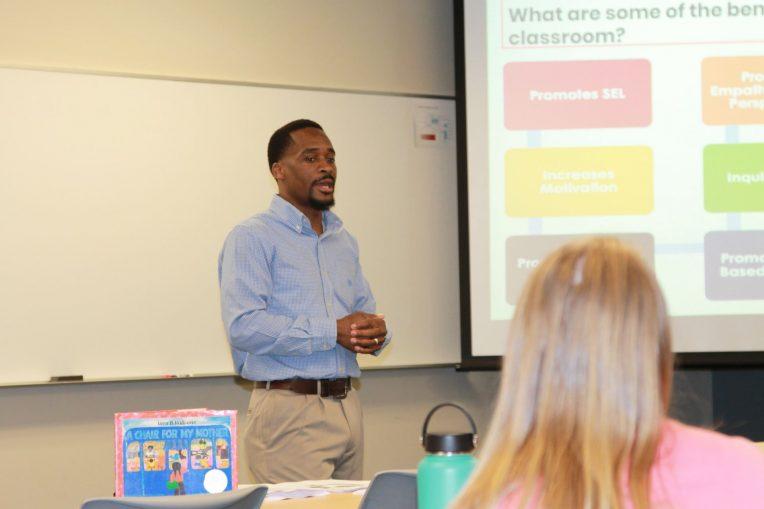 New Teacher Conference speaker