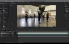 Screen shot of motion graphic program