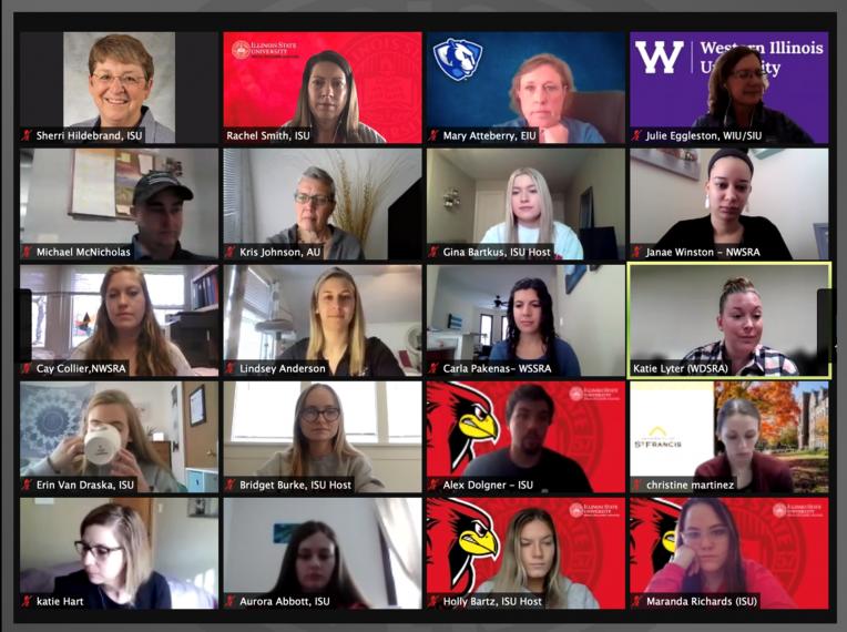 Zoom screenshot of meeting participants