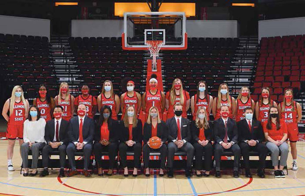 Illinois State women's basketball team.