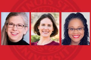 Portraits of three instructors names CTLT Teaching Scholars-in-Residence