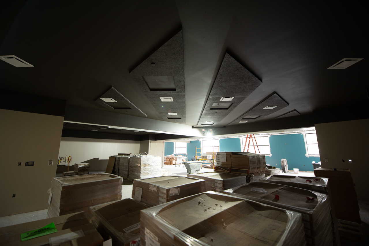 Inside the new Multicultural Center
