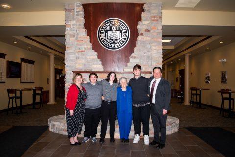 From left to right: Diane (Efaw) Gunz, Keaton Gunz, Katya Efaw, Barbara Efaw, Caleb Gunz, David Efaw