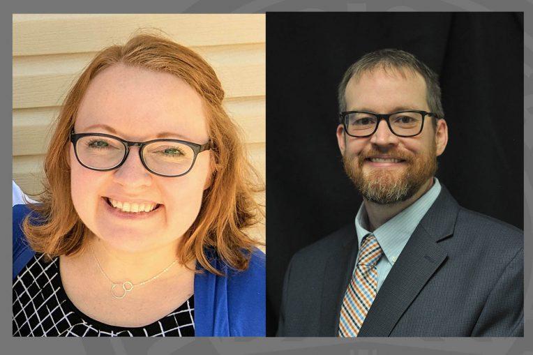 Ashley Berg and Dr. Joshua Brown