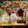 Chicago Public School teacher in classroom