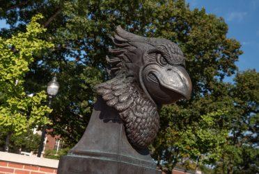 Redbird statue