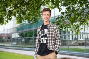 Kole Damkoehler is one of the recipients for the McLean County Full Tuition Scholarship f