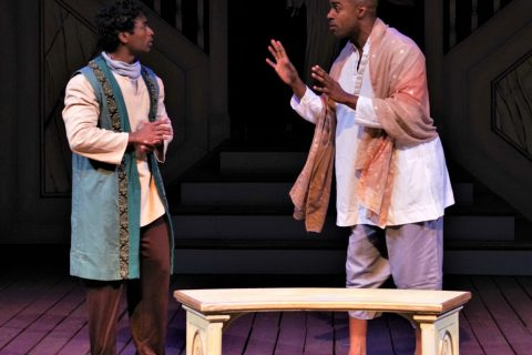 """Ben Mathew and Chauncy Thomas in """"The Winter's Tale"""""""