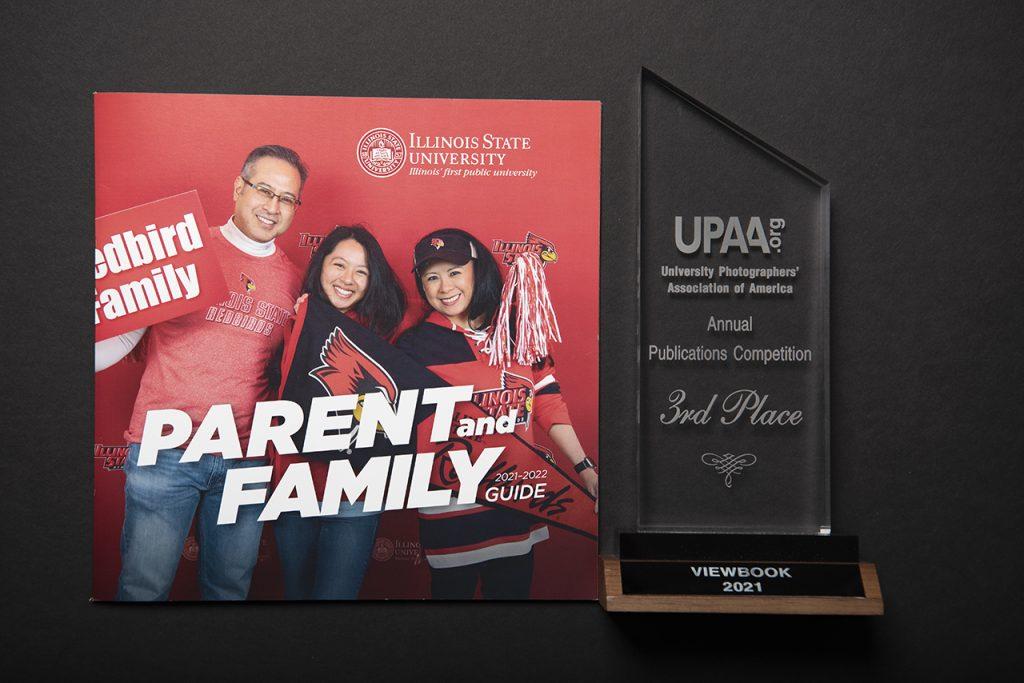 Award won by Lyndsie Schlink in 2021 from UPAA