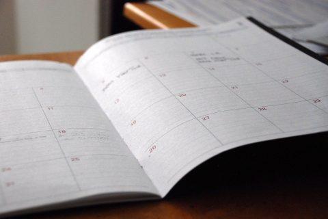 an open day planner