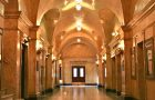 hallways with wide arches