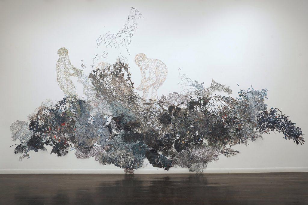 art installment by Fidencio Fifield-Perez