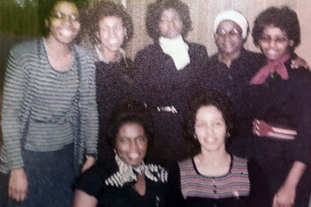 photo of group of women