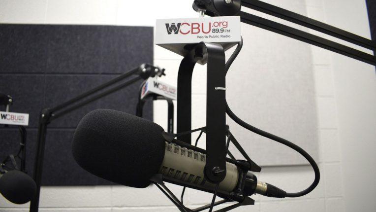 WCBU microphone