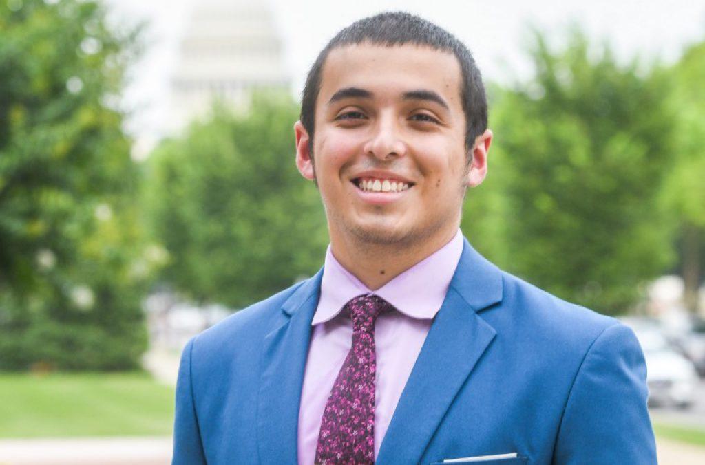 Christian Arceo on Capitol Hill