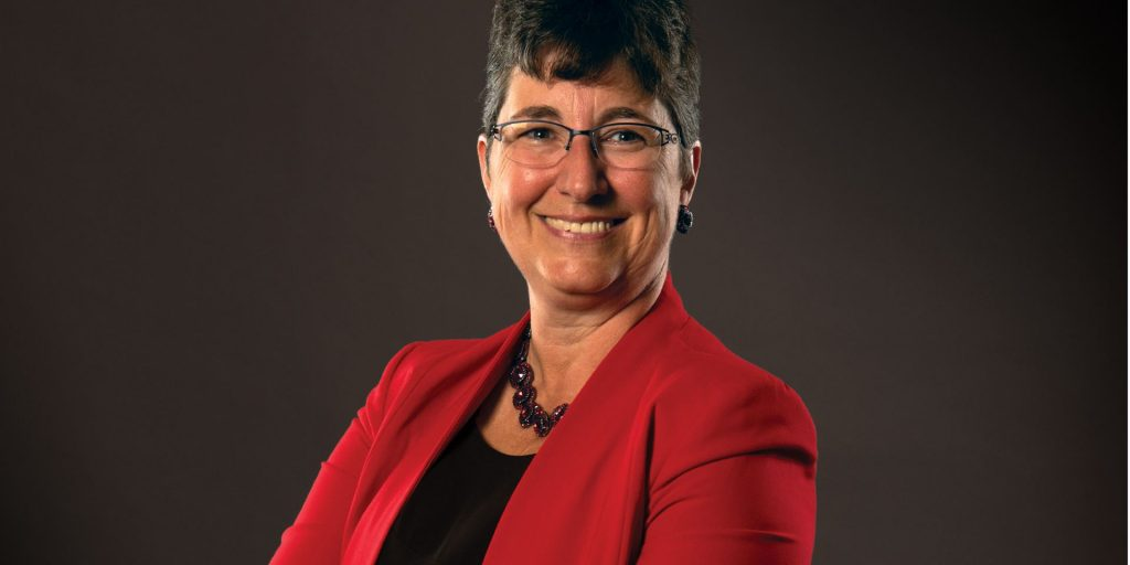 Cover image from Illinois State summer 2021 issue of President Terri Goss Kinzy