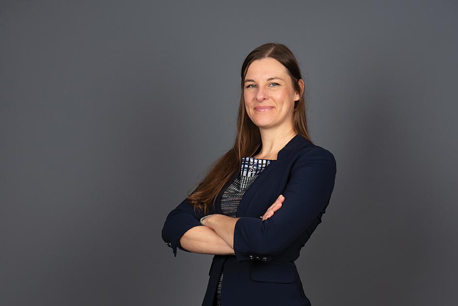 Portrait headshot of Dr. Becky Beucher