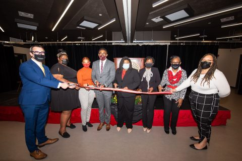 Illinois State University held a celebration and ribbon-cutting ceremony for its new Multicultural Center.