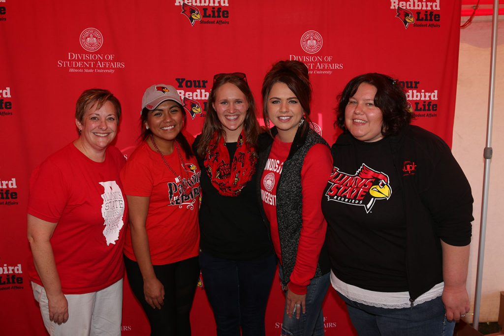 Staff and alumni from the Division of Student Affairs