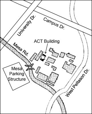 Arts Department Map