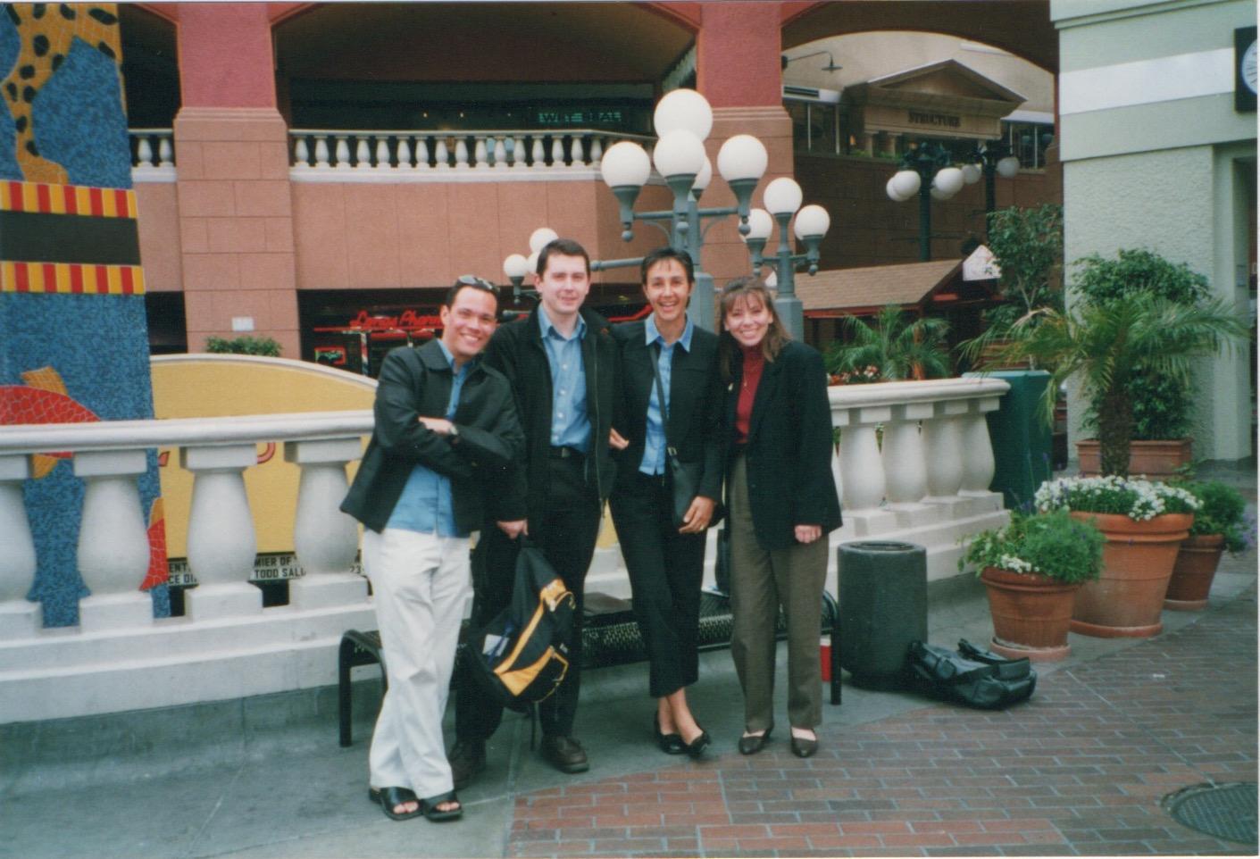 ACS meeting in San Diego-  Armando JF Najat Lisa