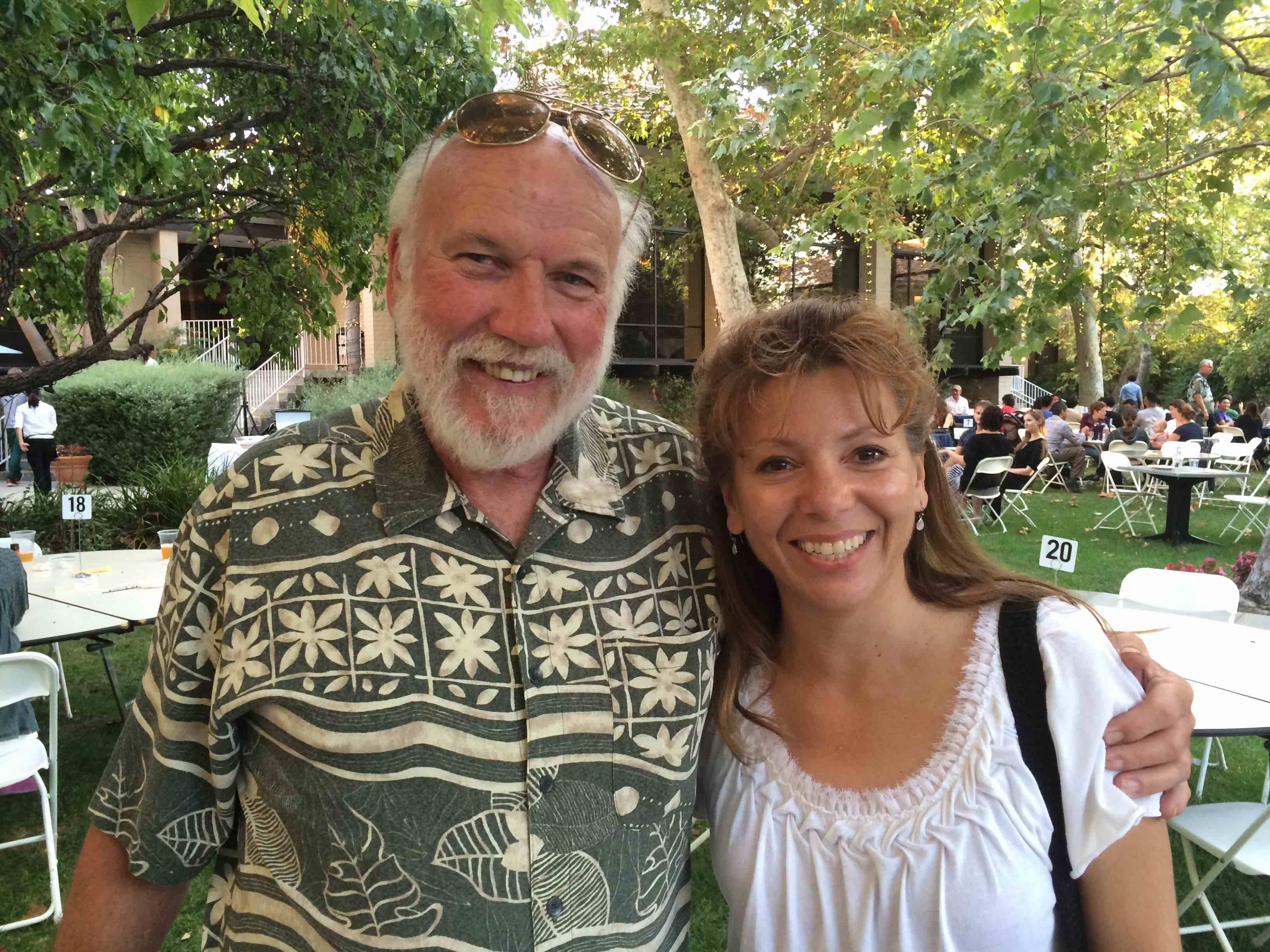 Mike Ezell and Lisa Wingen