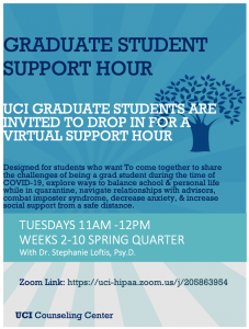 Grad Student support hour